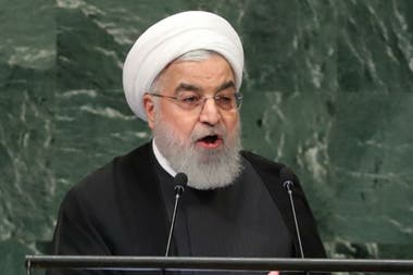 El presidente iraní Hassan Rohani