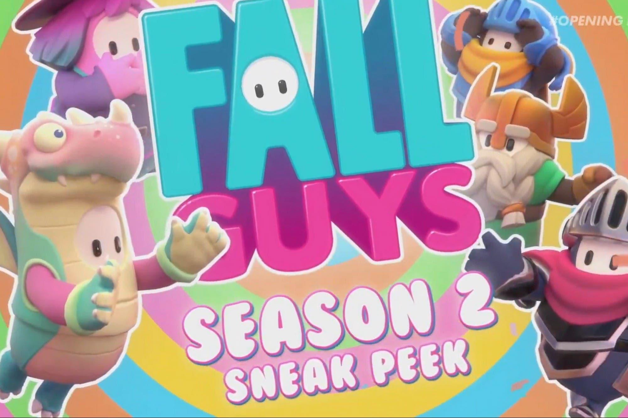 Temporada 2: Fall Guys anuncia la nueva actualización ambientada en escenarios medievales