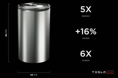 La clave para reducir el precio final del auto eléctrico es disminuir el costo de producción de la batería