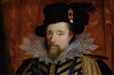 El rey James VI se consideraba un experto en brujería y escribió un libro llamado Daemonologie en 1597