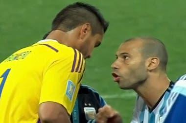 """El """"Hoy te convertís en héroe."""" de Javier Mascherano a Sergio Romero, antes de la definición por penales con Holanda en el Mundial 2014"""