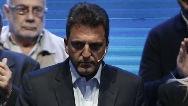 Sergio Massa quedó tercero como candidato a senador nacional