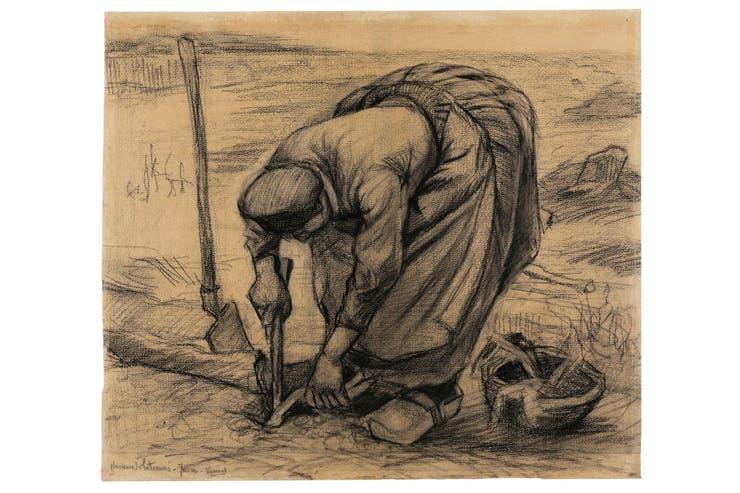 Planteuse, de Van Gogh