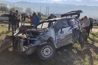 Se accidentó David Nalbandian en el Rally: el video de accidente y las fotos del auto destrozado