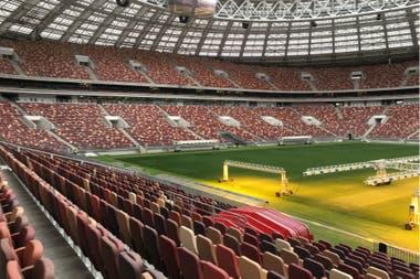 En el Estadio Olímpico Luzhnikí comenzará a rodar la pelota el 14 de junio próximo