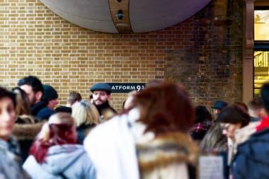 La plataforma 9 3/4 de Londres