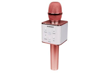 Karaoke. Micrófono Bluetooth con parlante integrado de Ranser ($ 959)