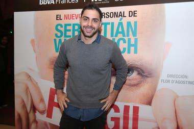Gregorio Rossello fue otro de los invitados a la función número 100 del nuevo espectáculo de Wainraich