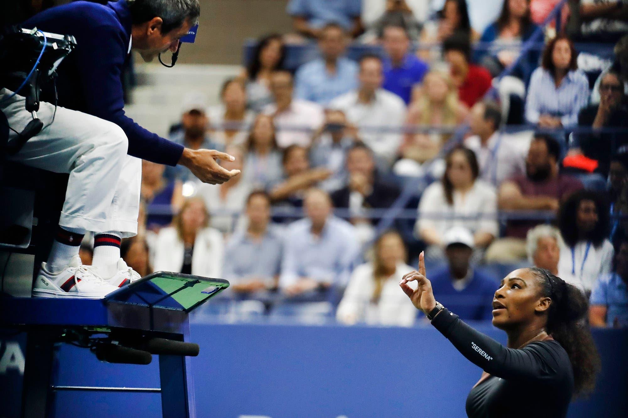 """La explicación de Serena Williams por el escándalo de la final: """"Sufrí una decisión sexista y lucho por la igualdad de las mujeres"""""""