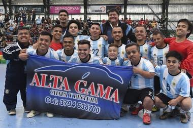 La selección de talla baja de la Argentina está en la final de la Copa América