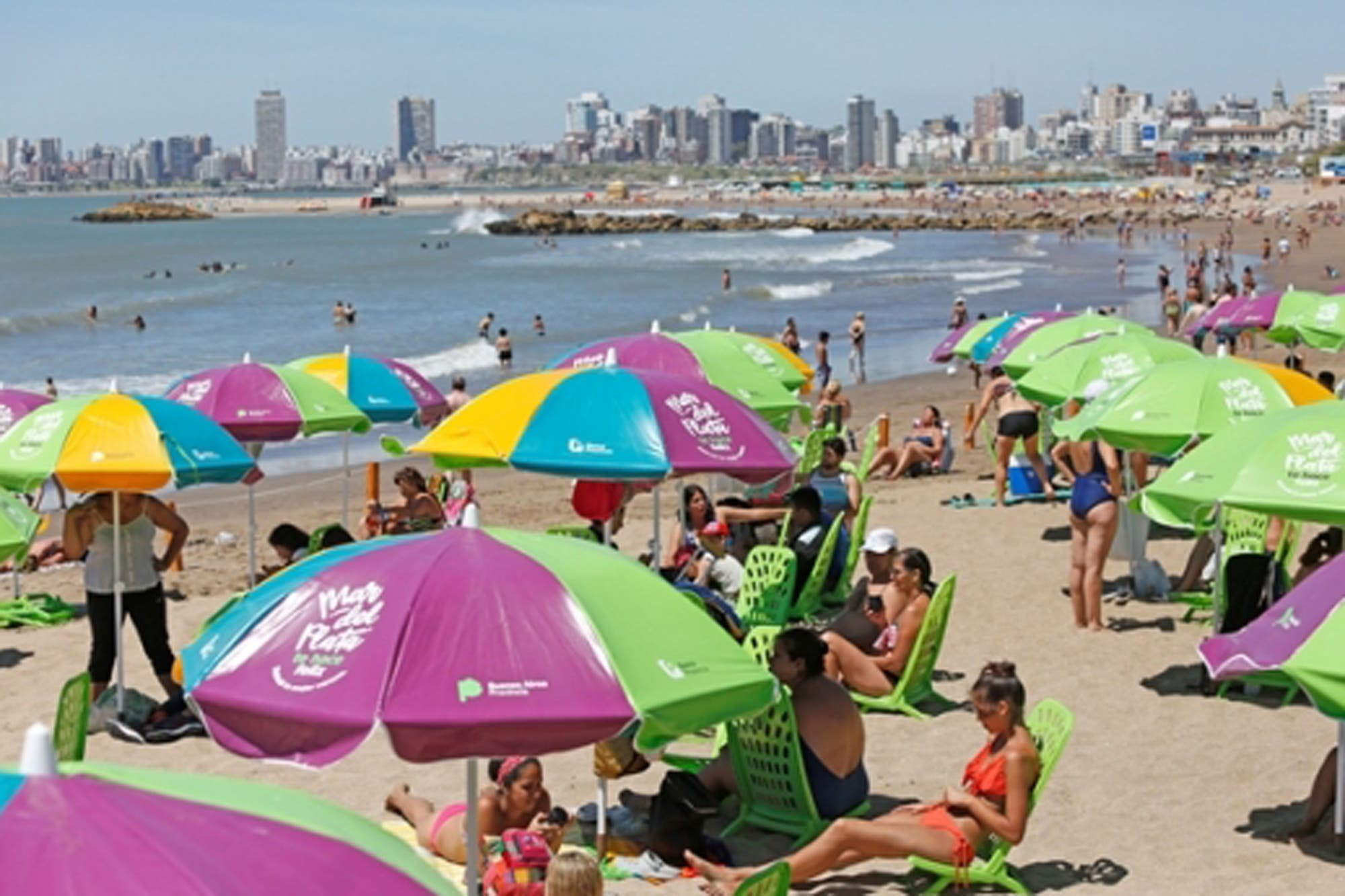 Así son las playas públicas que inaugura María Eugenia Vidal en Mar del Plata