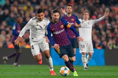La historia de Messi ante Real Madrid  sus mejores goles def758622df