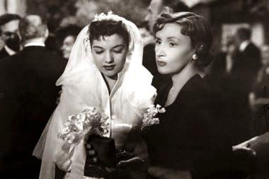 Beatriz Taibo y Tita Merello, en Para vestir santos