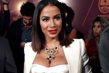 Anitta: la cantante brasileña fue la gran invitada de la fiesta