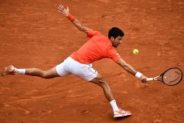 La plasticidad de Djokovic.