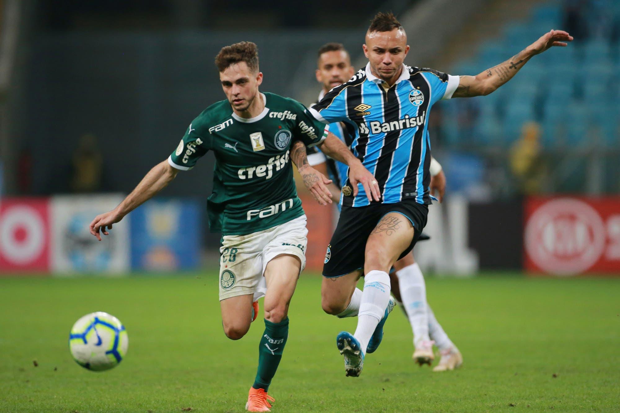 Gremio-Palmeiras, por la Copa Libertadores: horario TV y formaciones