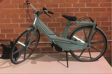 La bicicleta de plástico resultó ser un fracaso comercial