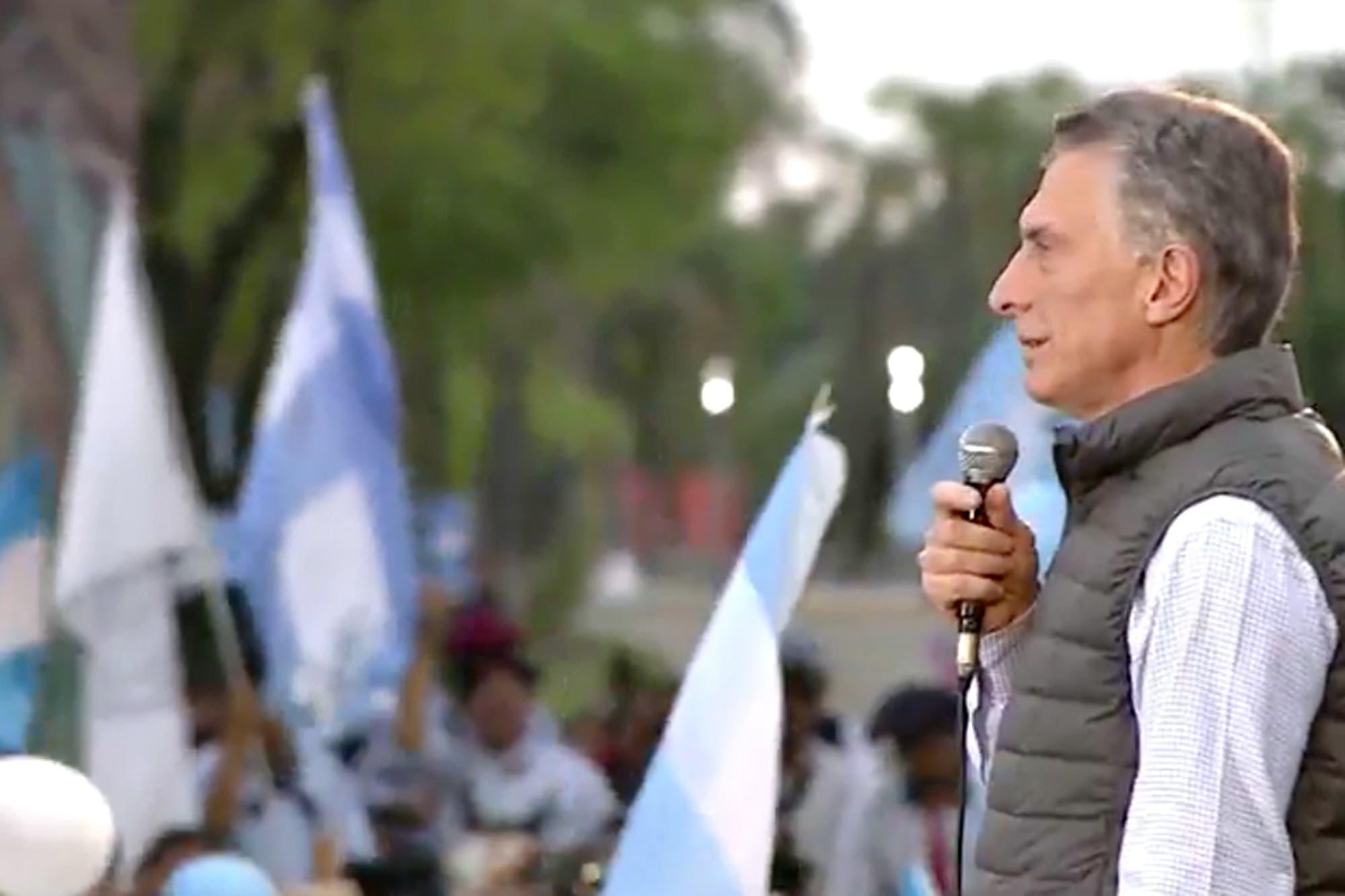 """Mauricio Macri: """"Siempre estaré a favor de las dos vidas"""""""