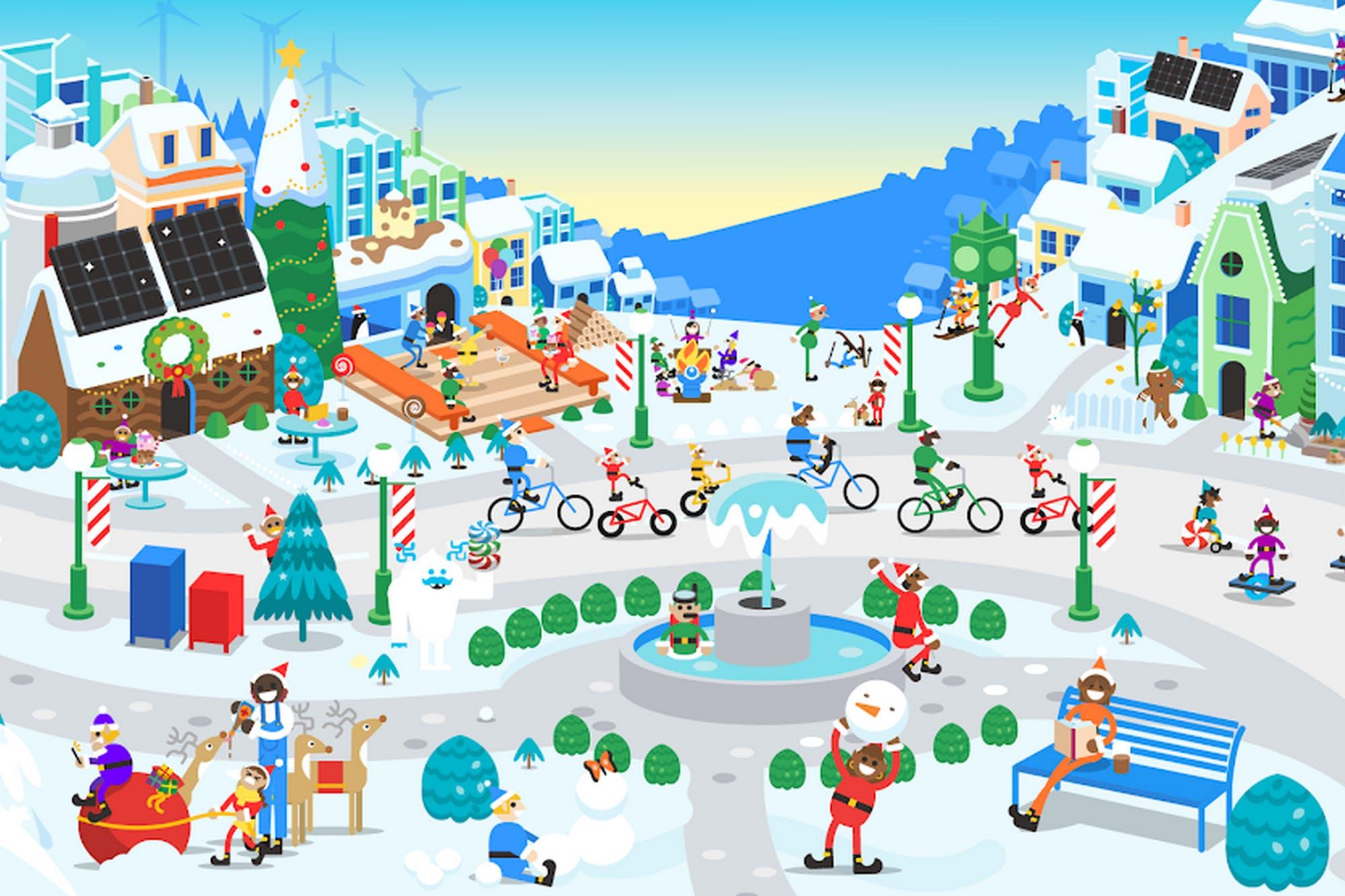Cinco apps para celebrar la Navidad con Papá Noel en tu celular
