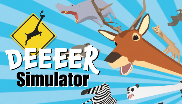 DEEEER Simulator: así es el absurdo y divertido videojuego del ciervo mutante