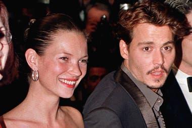 Kate Moss y Johnny Depp