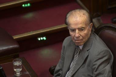 El expresidente y actual senador nacional cumplió 90 años el 2 de julio pasado