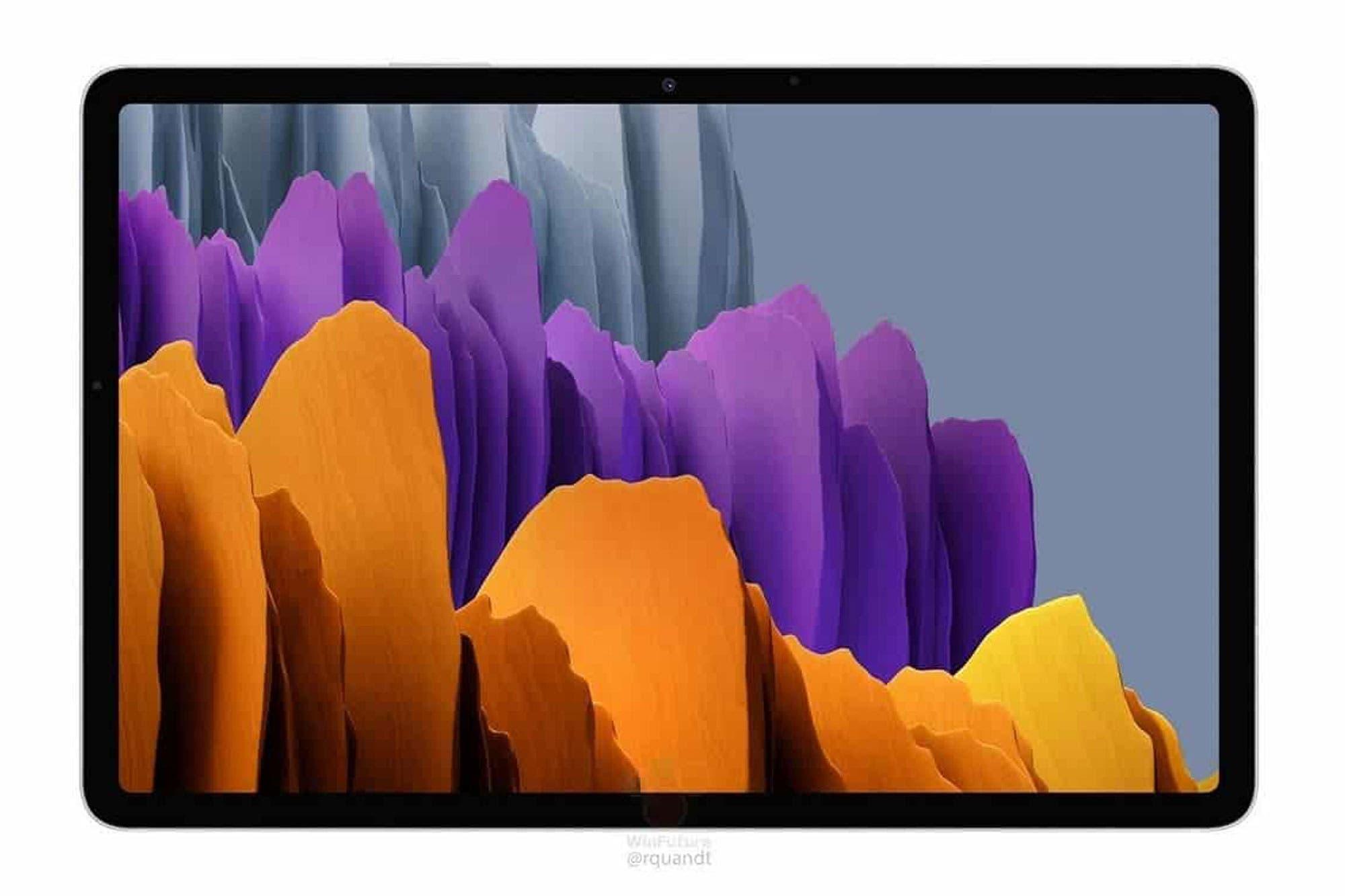 Estas son las nuevas tabletas Galaxy Tab S7 y S7+ que Samsung prepara para competir con las iPad Pro de Apple