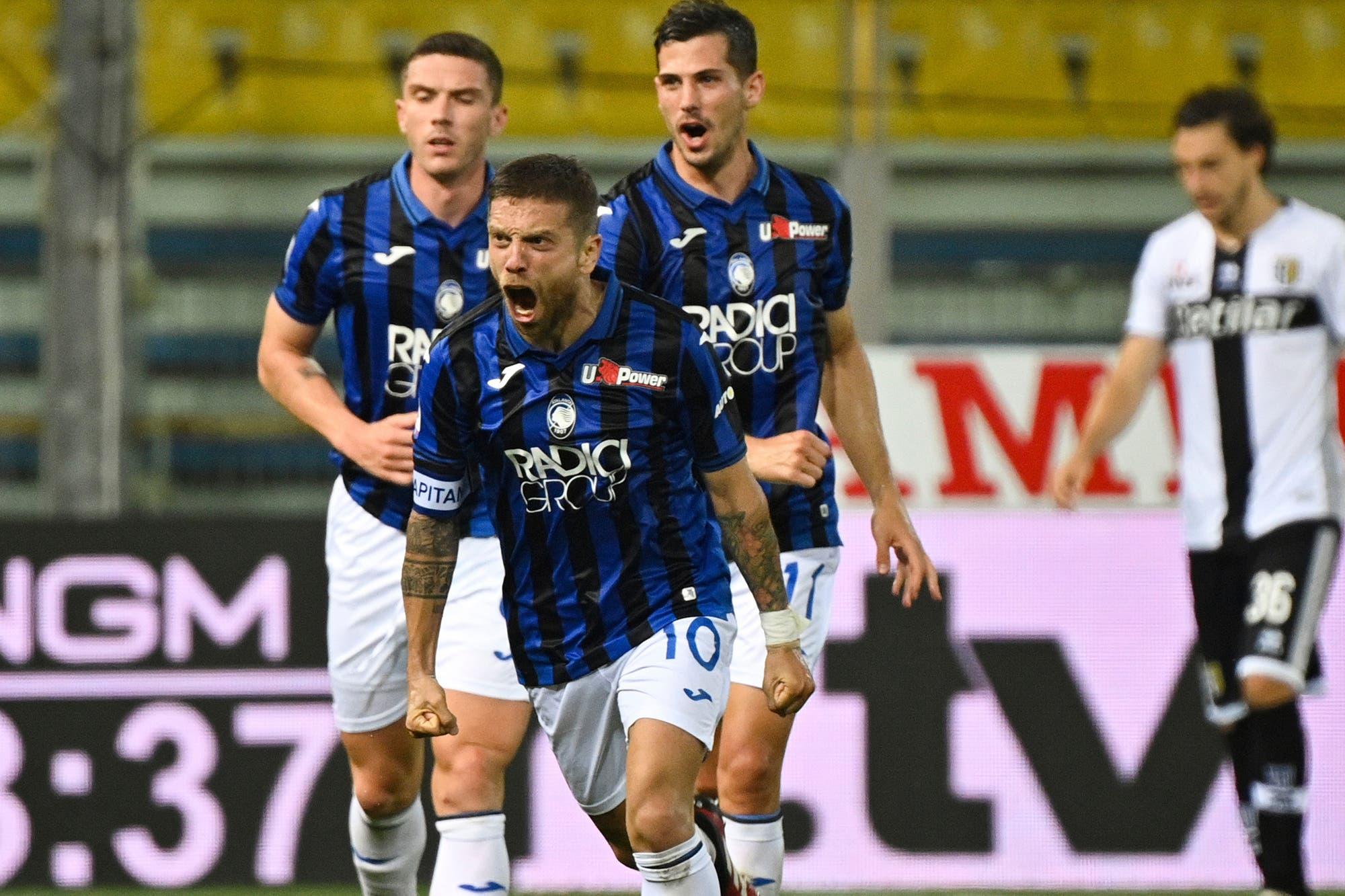 Alejandro Papu Gómez anotó un golazo en la victoria de Atalanta, que busca el subcampeonato en la Serie A de Italia por primera vez en su historia