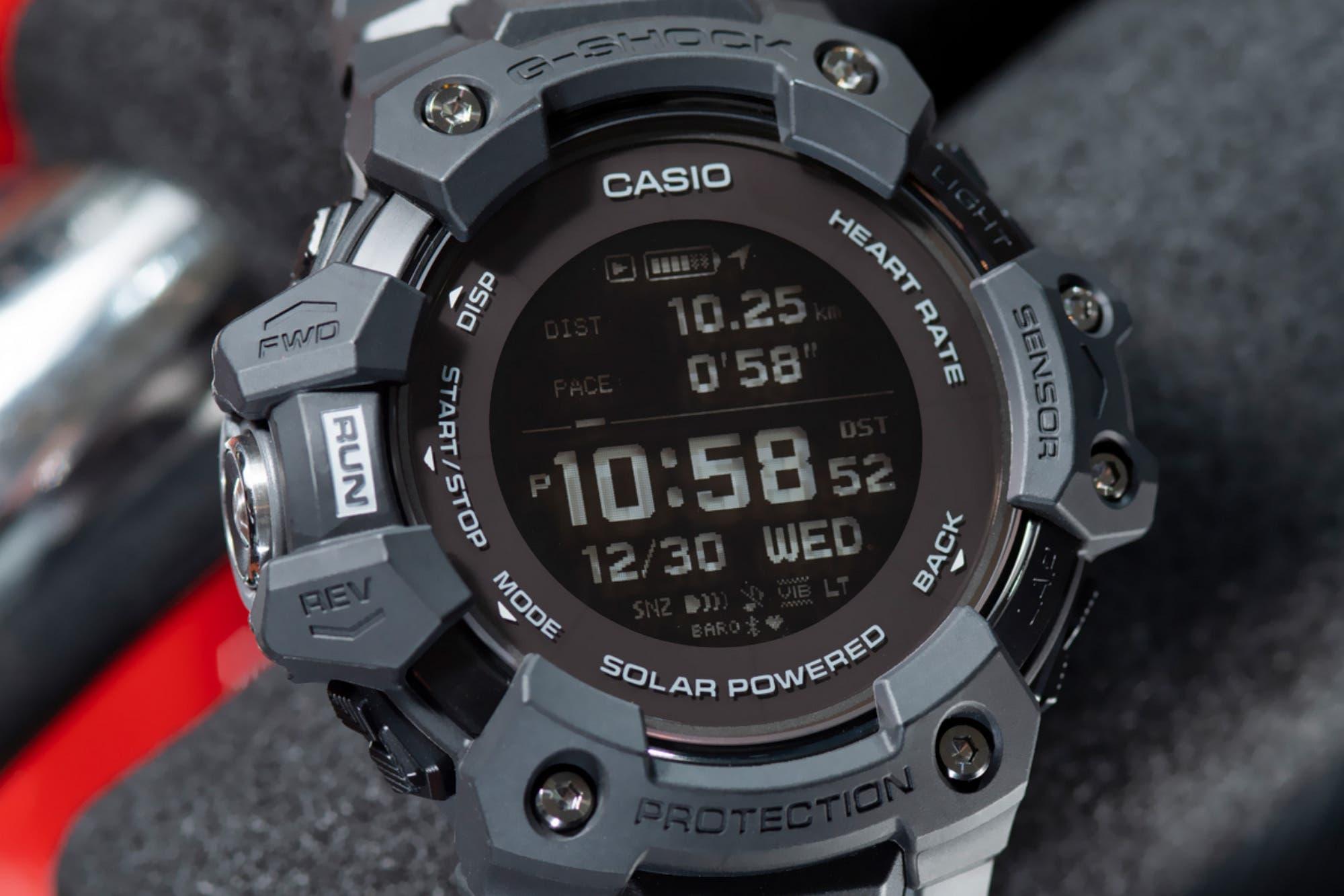 Casio lanza el G-SHOCK G-SQUAD GBD-H1000 con GPS y monitor de frecuencia cardíaca
