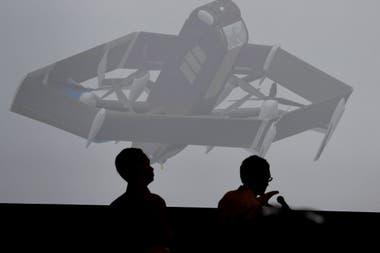 NUEVOS HORIZONTES. Durante una conferencia sobre robótica e inteligencia artificial realizada en Las Vegas, Amazon presenta su proyecto de drones de entrega, iniciativa que avanza a paso sostenido