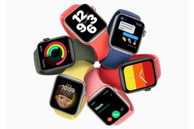 El Apple Watch SE es el más económico de los relojes inteligentes de la compañía