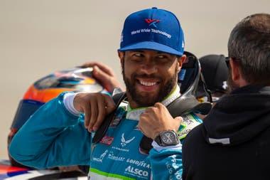 Bubba Wallace, el piloto elegido por Jordan para correr en el NASCAR