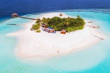 Las paradisiacas islas de Maldivas están amenazadas por el aumento del nivel de los océanos debido al cambio climático