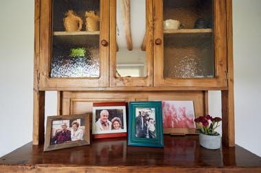 Las fotos de familia en la casa