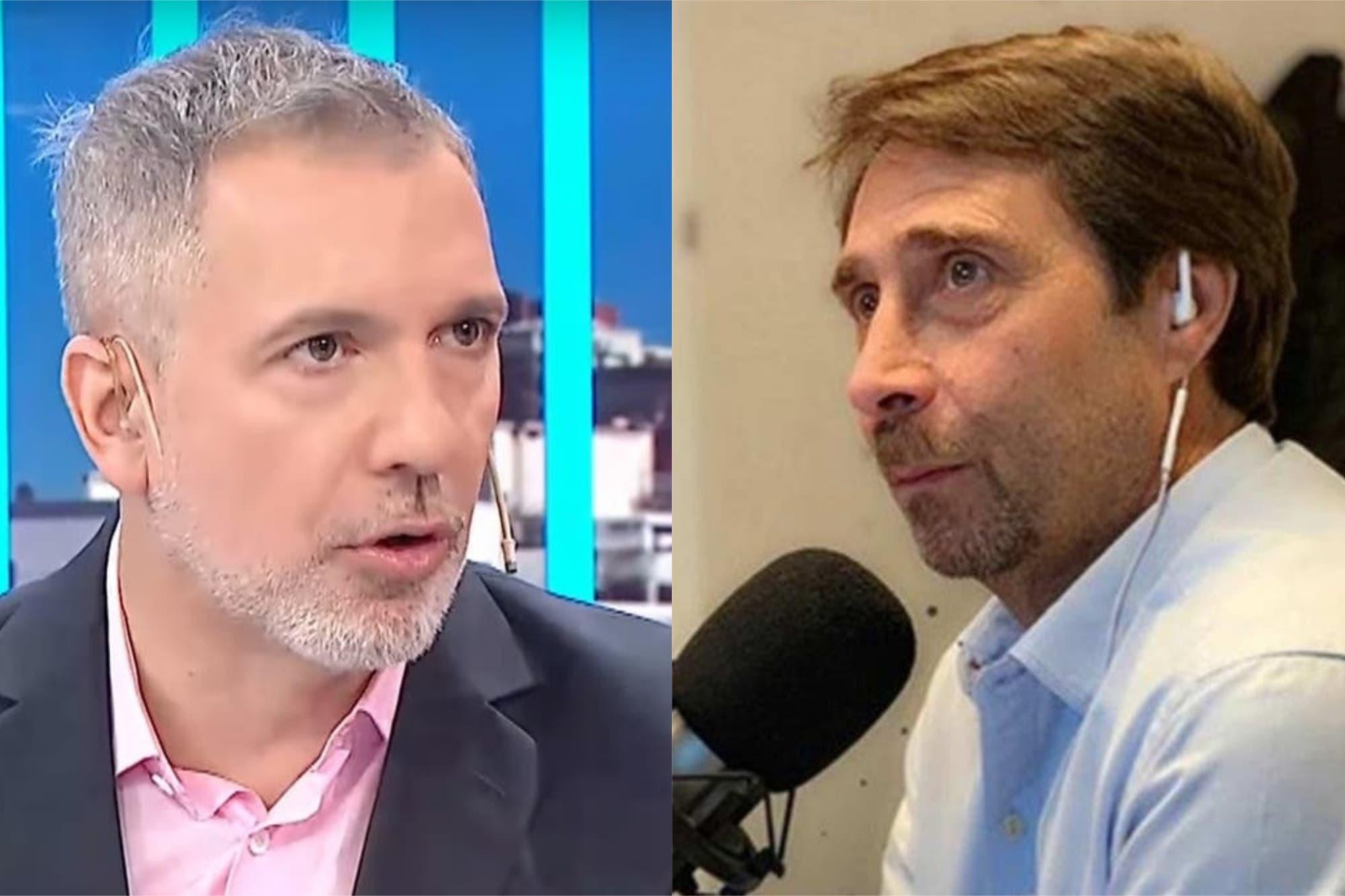 "Eduardo Feinmann se ""vengó"" de Duggan con una indirecta"