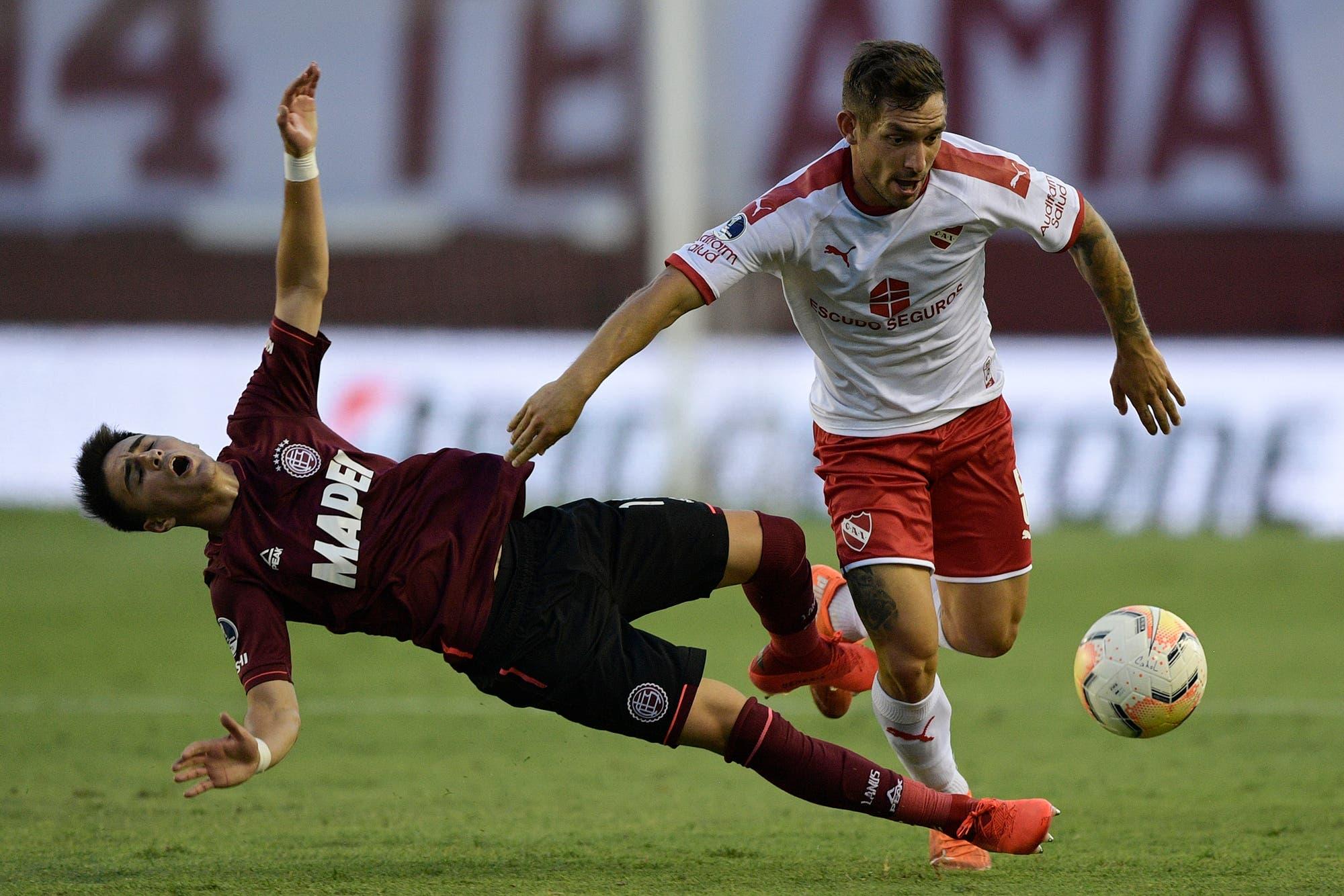 Lanús - Independiente: granates y rojos ya juegan en la Fortaleza por los cuartos de final de la Sudamericana