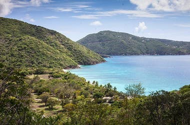 GUANA ISLAND, BRITISH VIRGIN ISLANDS.