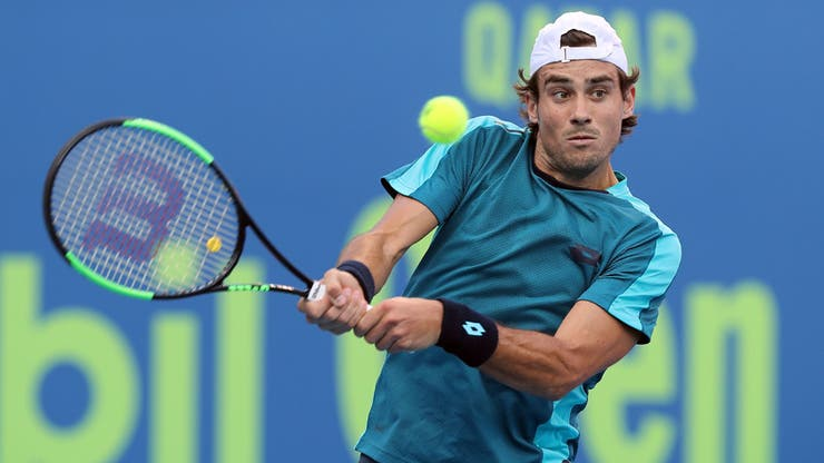 Guido Pella sigue firme en Doha
