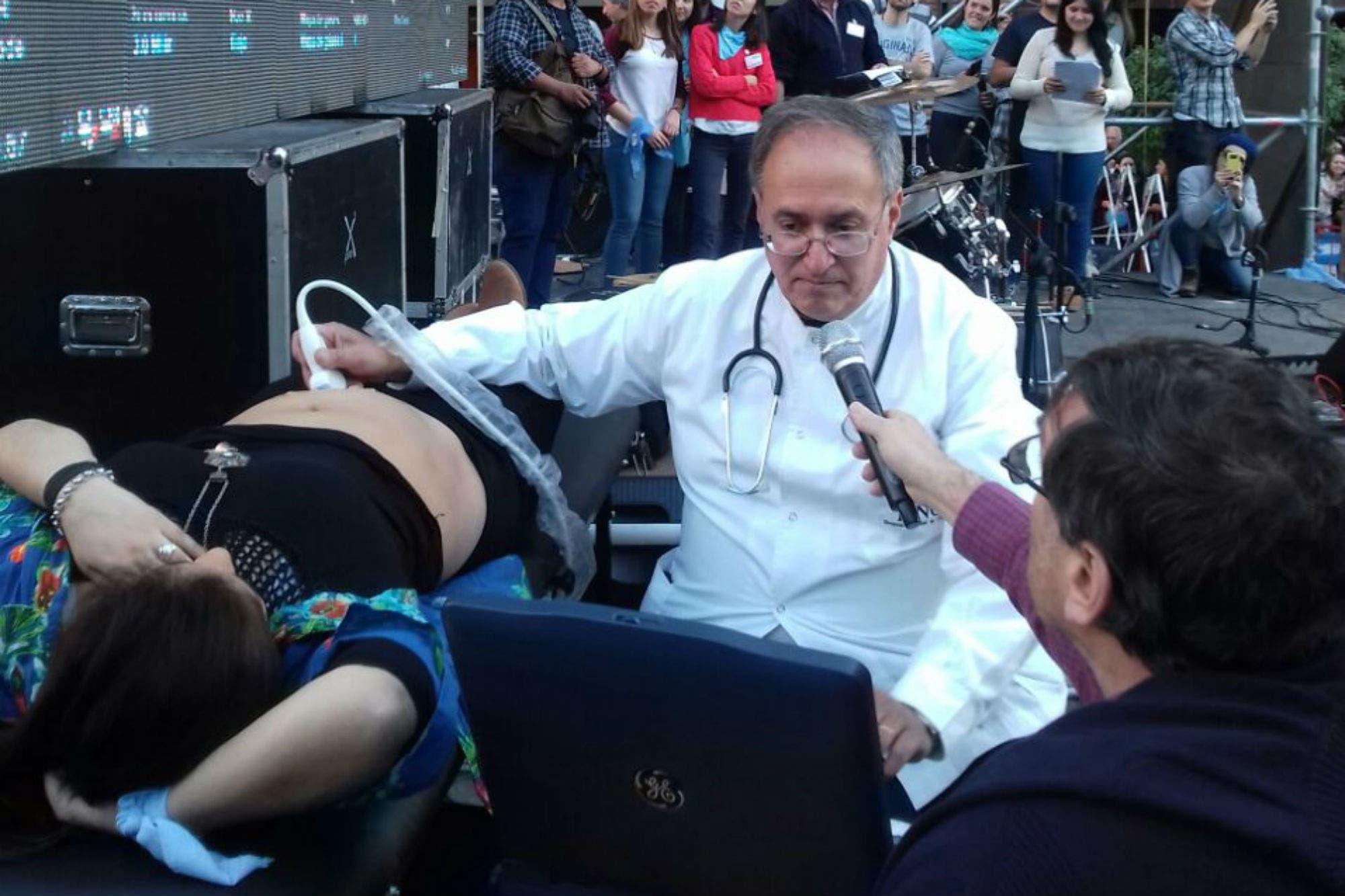 Córdoba: con ecografías en vivo marcharon contra el aborto