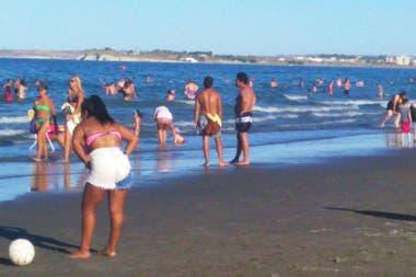 Muchos habitantes de la zona se fueron a la costa atlántica