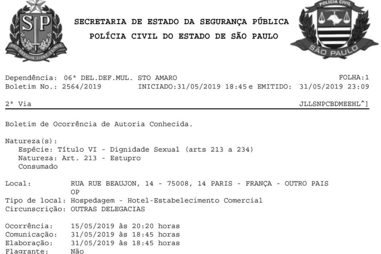 Documentos: la denuncia a Neymar por violación y la respuesta del jugador en las redes sociales