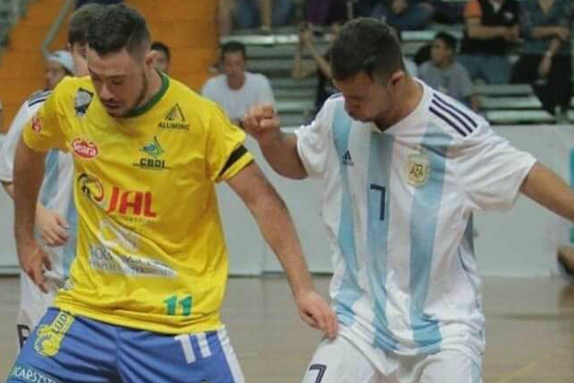 Argentina y Brasil definen el Mundial de Futsal con Síndrome de Down