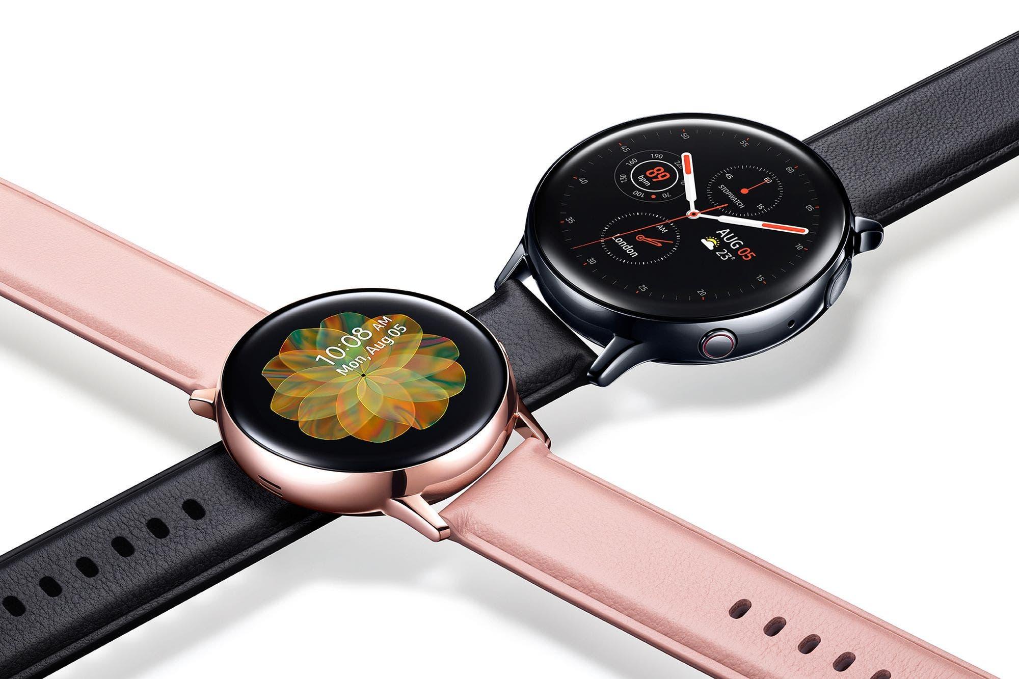 Galaxy Watch Active 2: así es el nuevo reloj inteligente de Samsung capaz de hacer electrocardiogramas