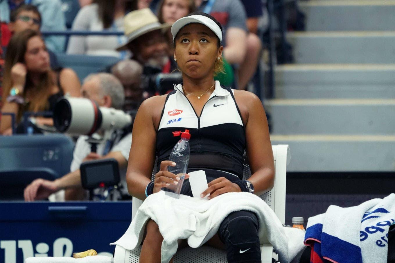 US Open: Osaka, la campeona defensora, perdió en octavos de final y cederá el número 1
