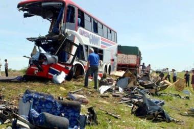 La tragedia del colegio Ecos, en 2006, donde murieron doce personas, entre ellos, nueve menores
