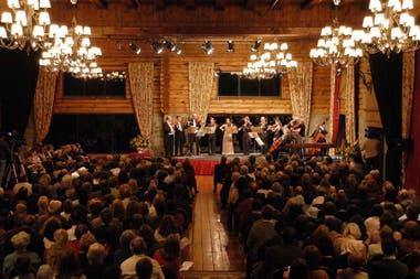En marzo, el Llao Llao volverá a recibir un clásico discontinuado: Semana Musical