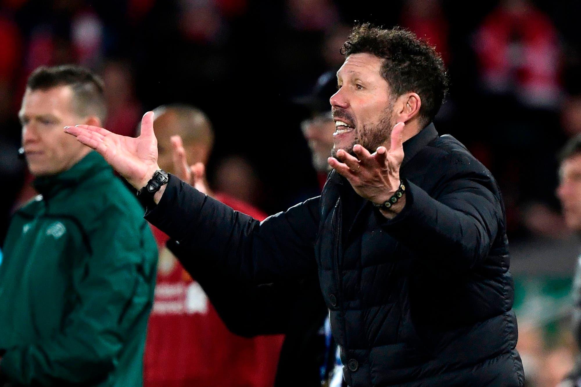 Simeone explicó los motivos por los que Atlético eliminó a Liverpool