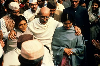 Gandhi, una obra monumental que ganó ocho premios Oscar