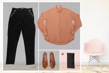 El terciopelo es una de las grandes tendencias de la temporada, y se lleva muy bien en calzas