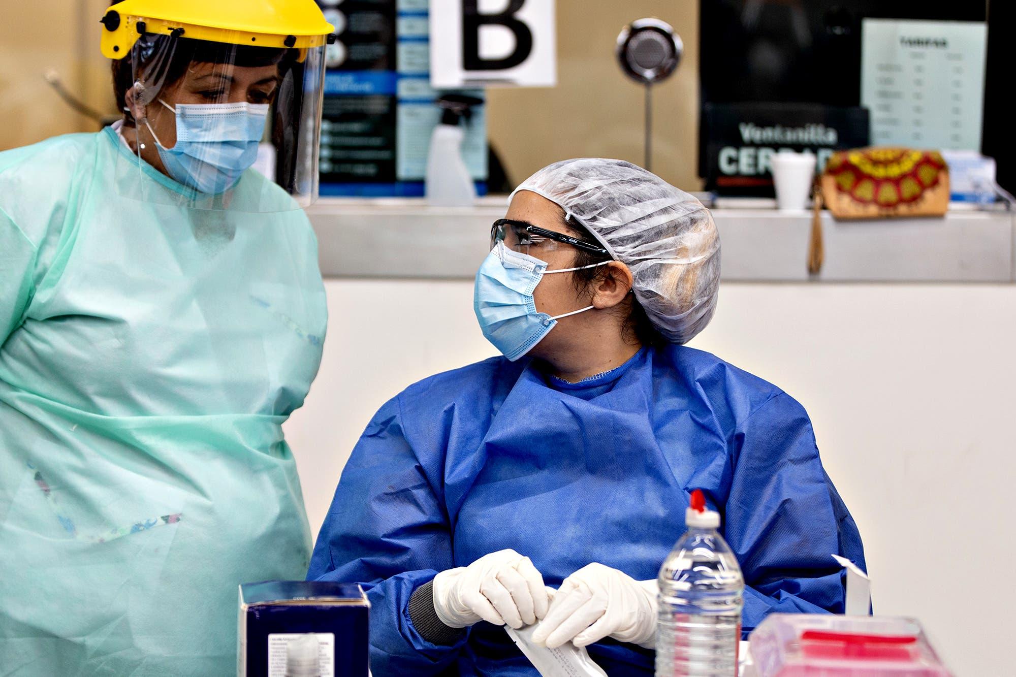 Coronavirus en la Argentina: reportan 443 muertos y los fallecidos superan los 15.000